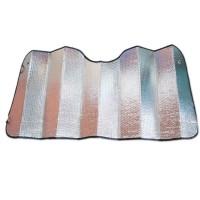 Parasolar folie aluminiu 2 fete, 70 cm x 150 cm