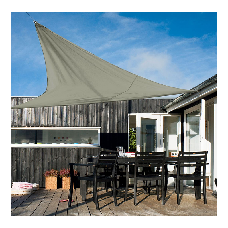 Parasolar pentru terasa, 300 cm, poliester, Verde shopu.ro