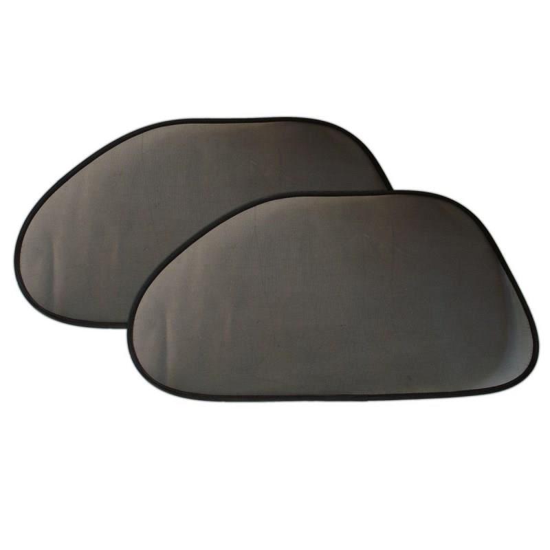 Parasolare laterale-spate, negru, 2 bucati 2021 shopu.ro
