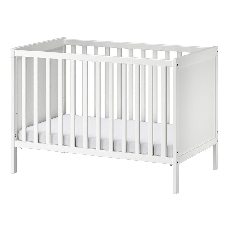 Patut pentru bebelusi, 60 x 120 cm, somiera reglabila, trusa conversie inclusa 2021 shopu.ro