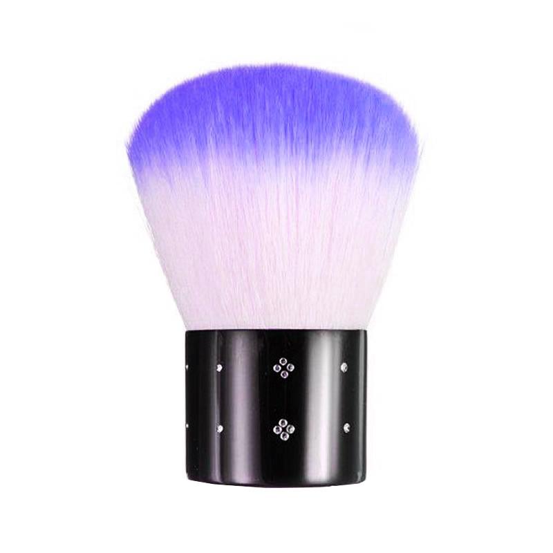 Pensula Kabuki pentru indepartare impuritati unghii PU11-P, Mov 2021 shopu.ro