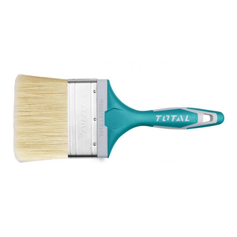 Pensula de vopsea Total Industrial, 100 mm, maner TPR 2021 shopu.ro