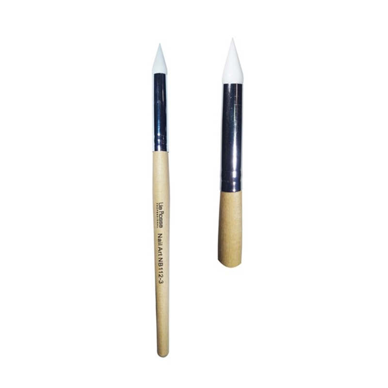 Pensula pentru unghii Lila Rossa, varf silicon, numarul 3 2021 shopu.ro