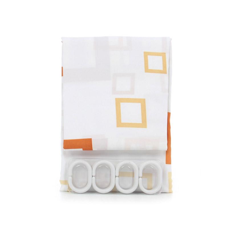 Perdea baie simpla polyester Zilan, 180 x 200 cm