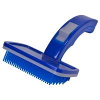 Perie pentru animale Grooming, Albastru