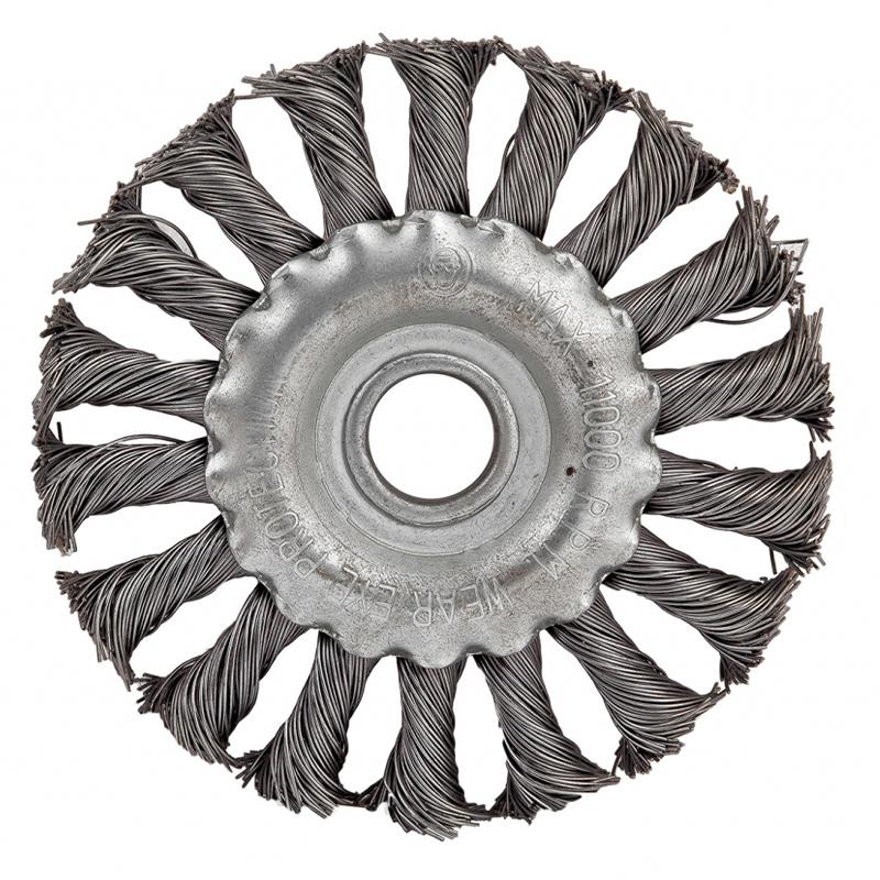 Perie circulara de sarma Raider, 200 mm, otel carbon shopu.ro