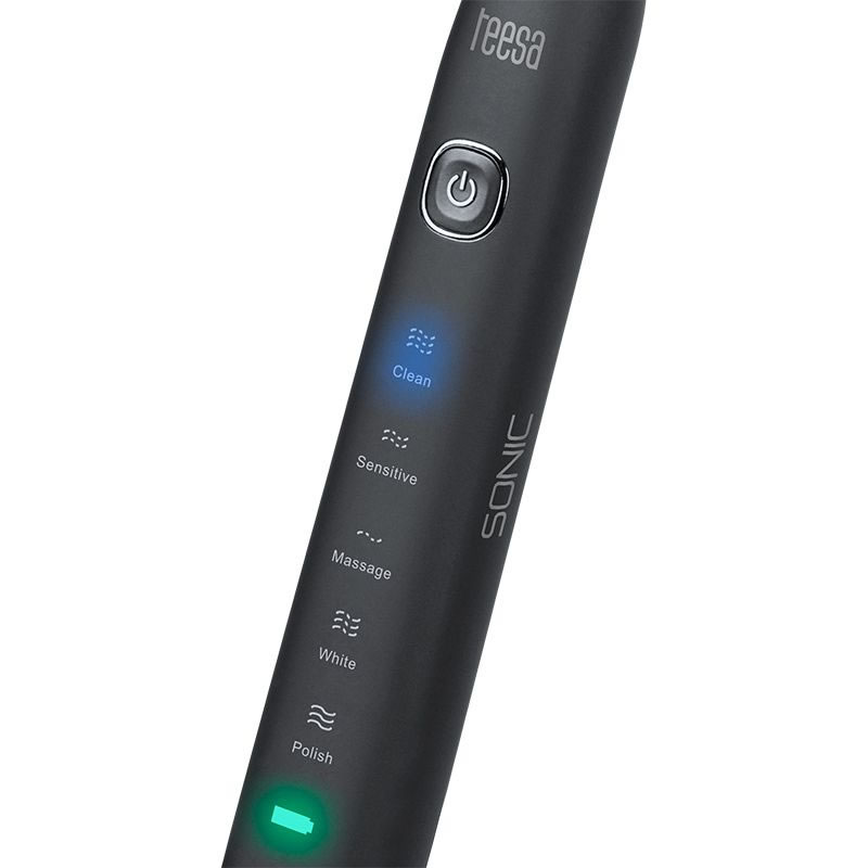 Periuta de dinti electrica Teesa Sonic Black TSA8015, 31000 pulsatii