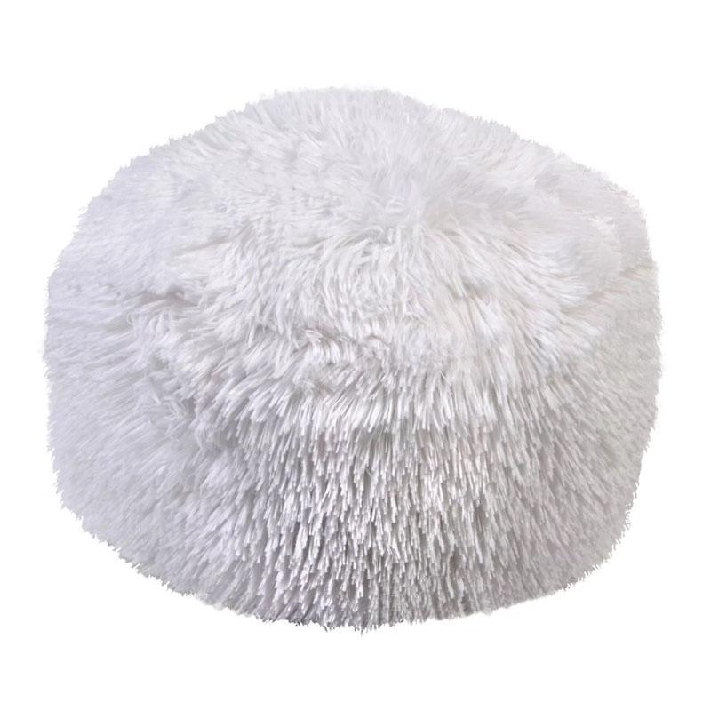 Perna decorativa tip blana Phuff White Winter, 30 x 15 cm 2021 shopu.ro