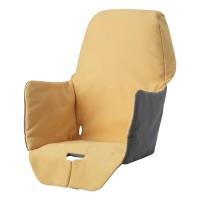 Perna sustinere pentru scaun bebelusi, 22 x 21 x 40 cm, Galben/Gri