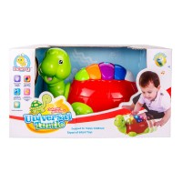 Pian interactiv Learning Fun, 25 cm, model broasca testoasa