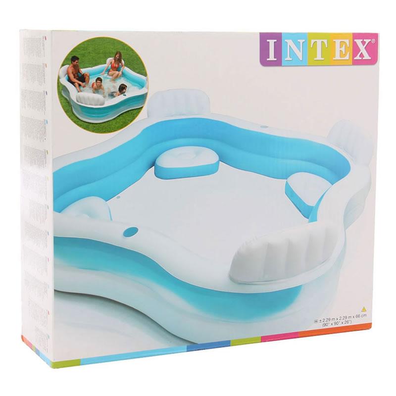 Piscina Swim Center Intex, 229 x 229 x 66 cm