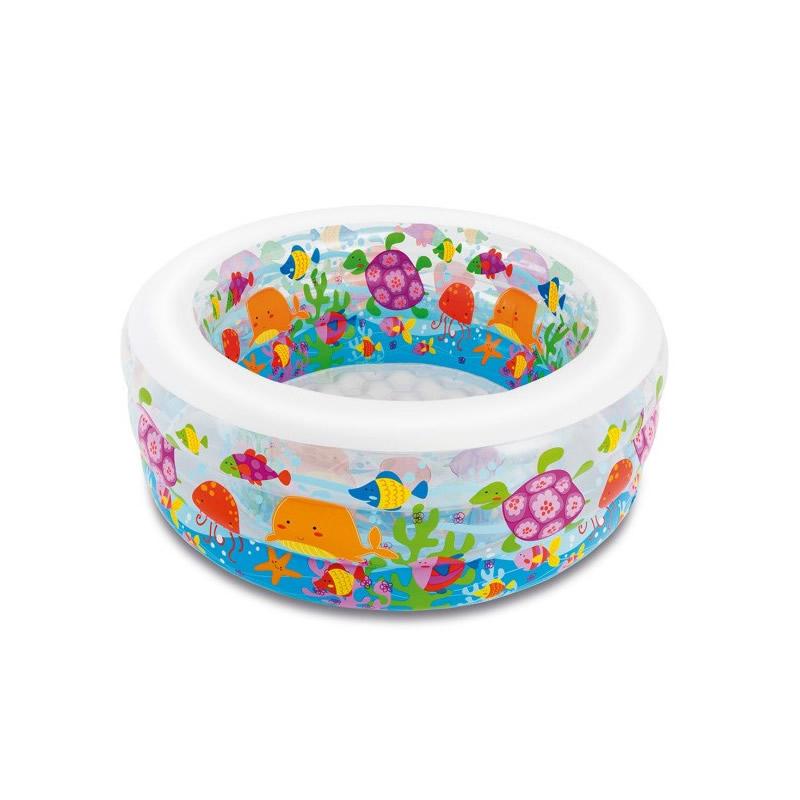 Piscina gonflabila Intex Aquarium 58480, pentru copii, 152 x 56 cm 2021 shopu.ro