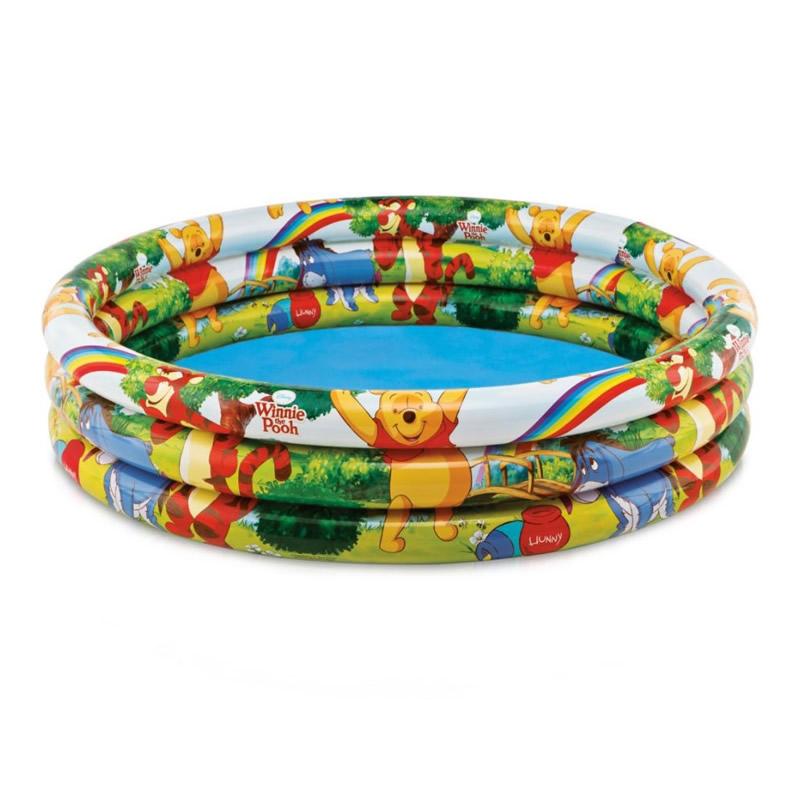 Piscina gonflabila Intex Winnie the Pooh 58915 NP, pentru copii, 147 x 33 cm 2021 shopu.ro