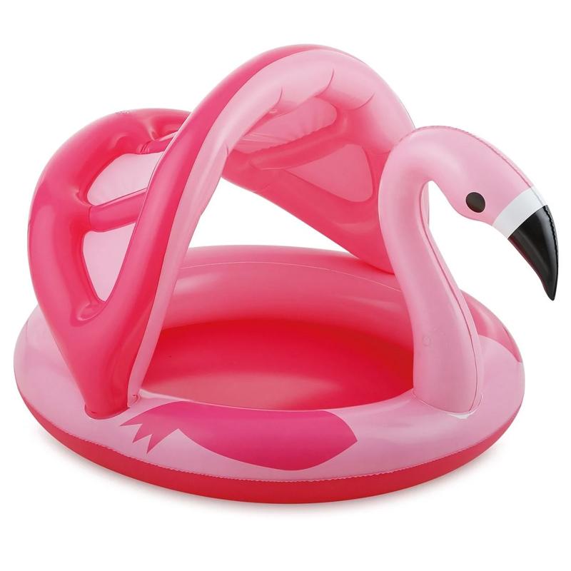 Piscina pentru copii Flamingo Summer Waves, 114 x 103 x 72 cm, maxim 30 kg, 3 ani+ 2021 shopu.ro