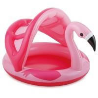 Piscina pentru copii Flamingo Summer Waves, 114 x 103 x 72 cm, maxim 30 kg, 3 ani+