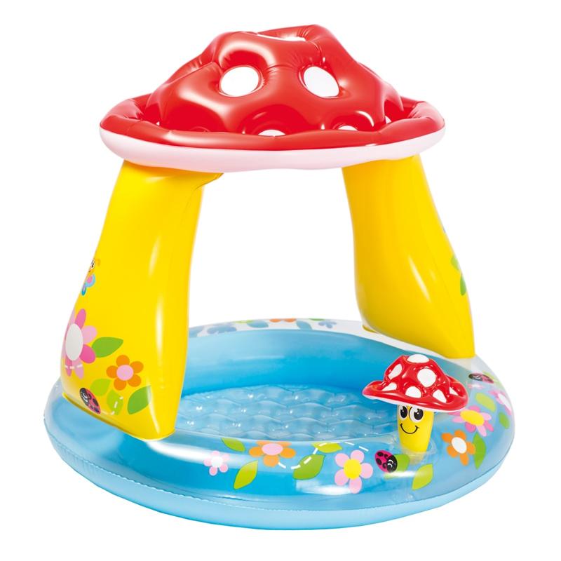 Piscina pentru copii Intex, tip ciuperca 2021 shopu.ro