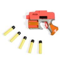 Pistol cu sageti Air Gun Shoot, 5 sageti incluse