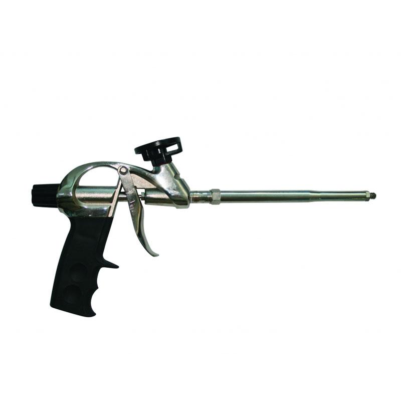 Pistol pentru spuma poliuretanica Top Strong, aluminiu shopu.ro
