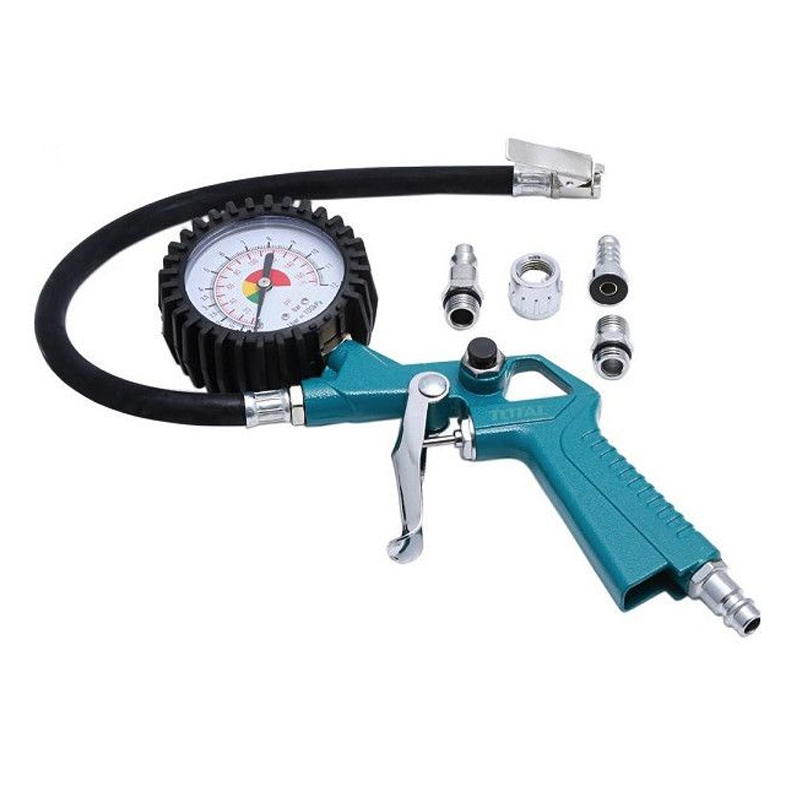 Pistol pentru umflare anvelope/pneuri Total, 12 bar, 174 PSI 2021 shopu.ro