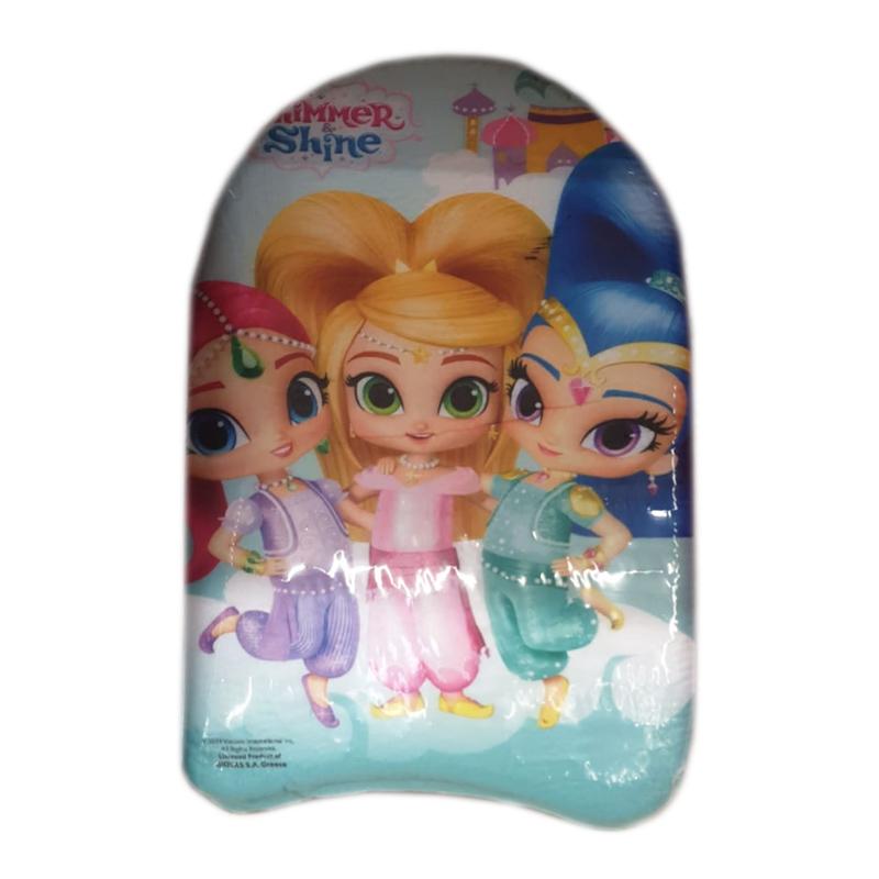 Placa inot pentru fetite Shimmer Shine, 42 x 28 cm, Multicolor 2021 shopu.ro