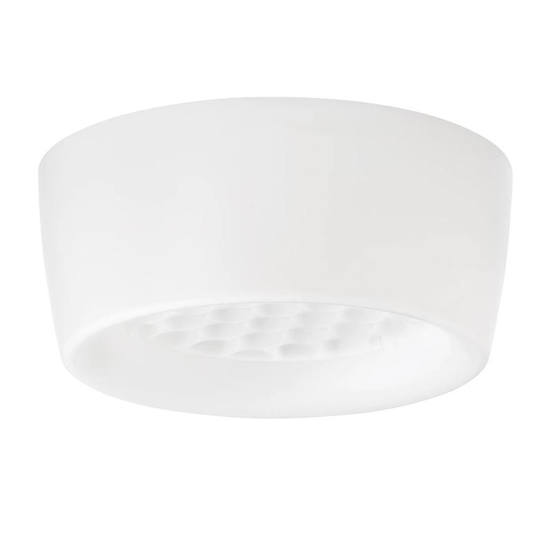 Plafoniera LED, 13 W, inaltime 10 cm, diametru 25 cm, bec GX53 shopu.ro