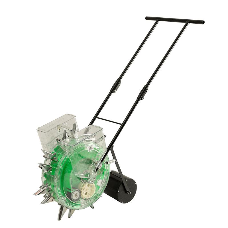 Plantator automat cu fertilizator Micul Fermier, distanta randuri 23 cm, adancime 7 cm 2021 shopu.ro