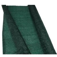 Plasa pentru gradina/umbrire, 1 x 9 m, polietilena, Verde