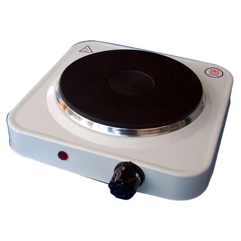 Plita electrica Hot Plate SL, 1000 W, 1 arzator, Alb 2021 shopu.ro