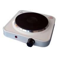 Plita electrica Hot Plate, 1500 W, 1 arzator, termostat reglabil, Inox
