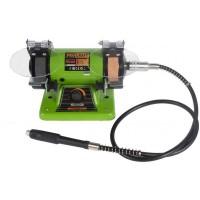Polizor banc cu gravor Procraft, 400 W, 10000 rpm, disc 75 mm, potentiometru, accesorii incluse