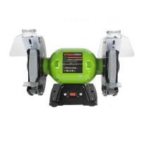 Polizor banc industrial Procraft, 1350 W, 2950 rpm, 220 V, 50 Hz, disc  200 x 16 mm, suport antivibrant, accesorii incluse