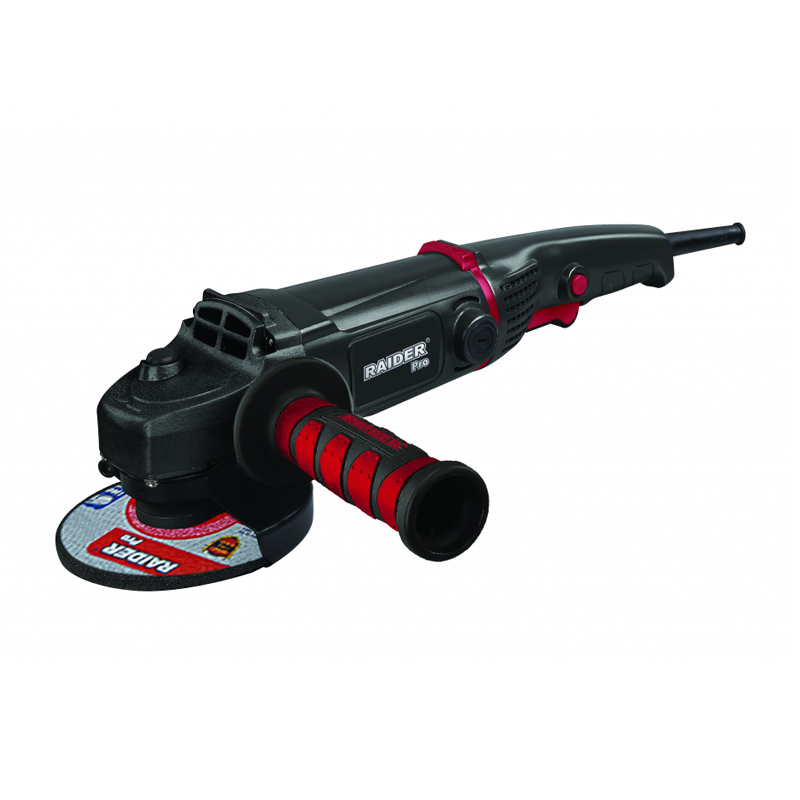 Polizor unghiular Black Edition Raider, 1200 W, 125 mm, 9000 rpm, maner auxiliar 2021 shopu.ro