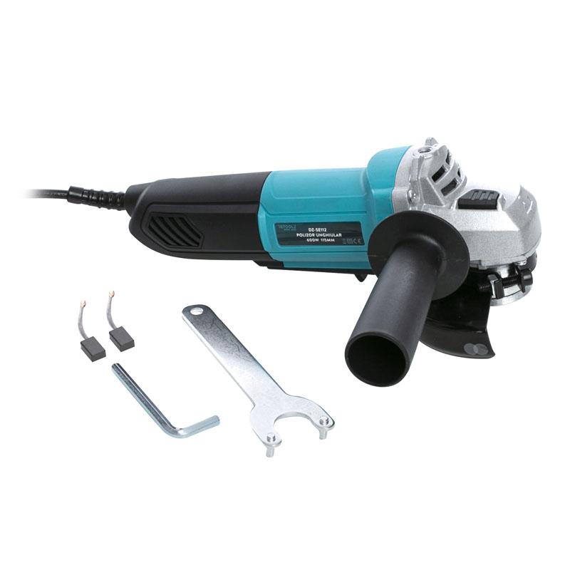 Polizor unghiular Detoolz, 600 W, 12000 rpm, 115 mm shopu.ro