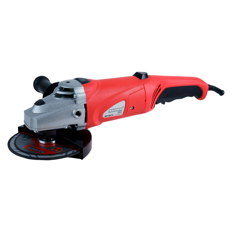 Polizor unghiular Raider, 1050 W, 8800 rpm, disc 150 mm, buton blocare ax 2021 shopu.ro