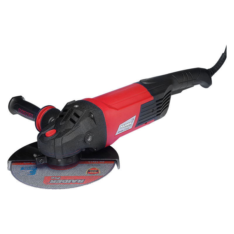 Polizor unghiular Raider, 2500 W, 6600 rpm, 230 mm 2021 shopu.ro
