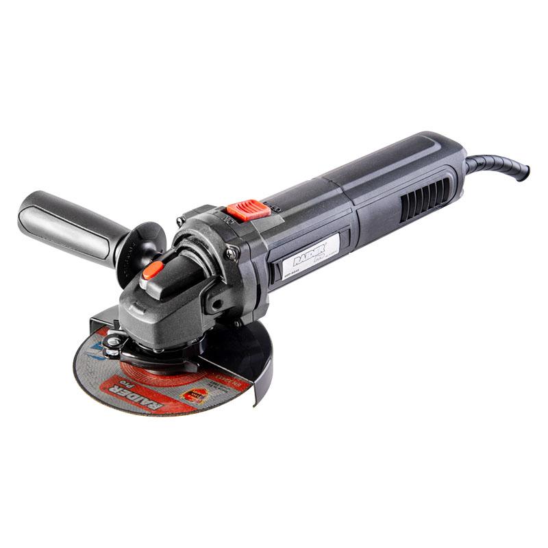 Polizor unghiular Raider, 500 W, 12000 rpm, disc 115 mm, viteza variabila cu control electronic shopu.ro