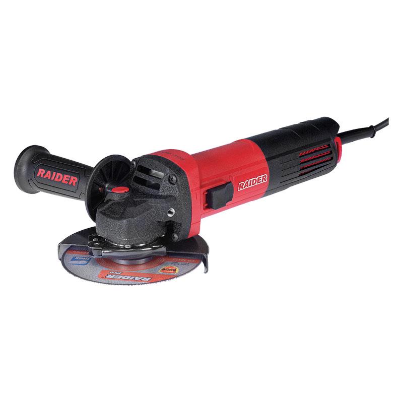 Polizor unghiular Raider, 850 W, 11000 rpm, disc 125 mm, maner auxiliar, filtru praf shopu.ro
