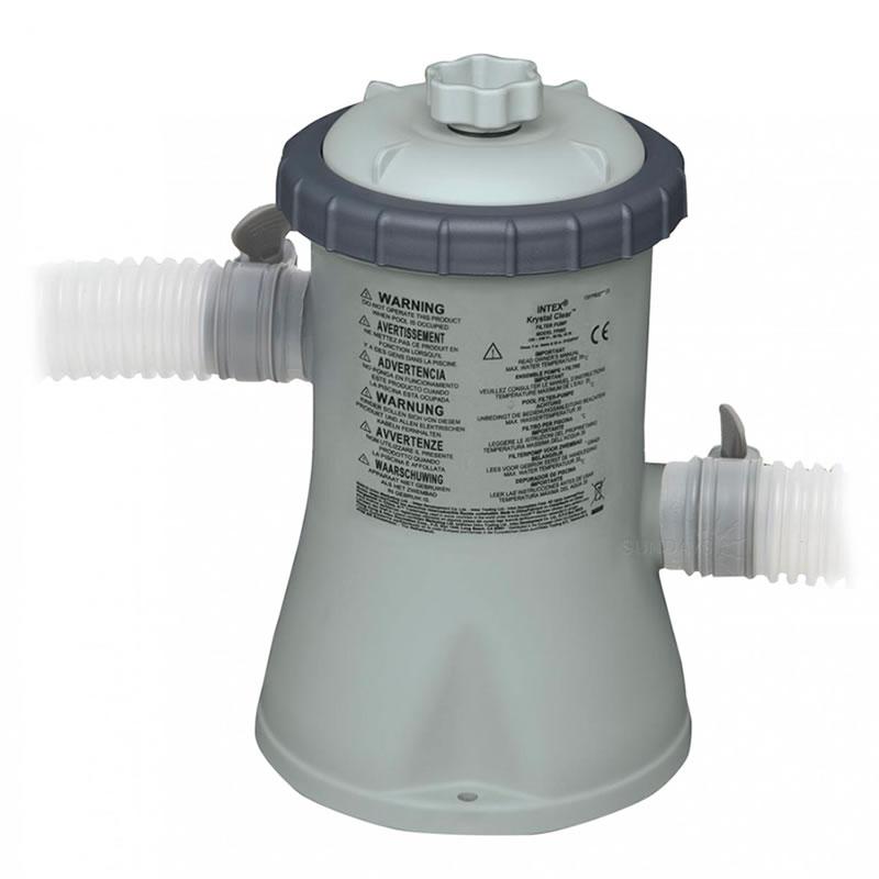 Pompa pentru filtrarea apei din piscina Intex, 1250 l/h 2021 shopu.ro