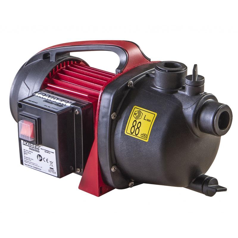 Pompa cu autoamorsare Raider RD-WP43, 600 W, 5000 l/h, inaltime 35 m, adancime 8 m 2021 shopu.ro