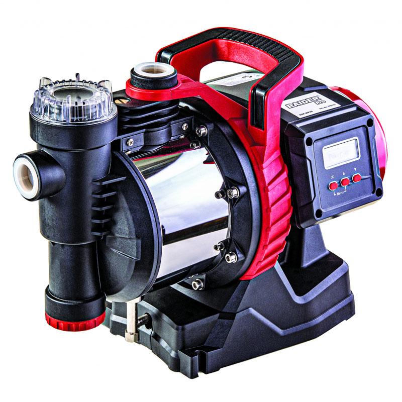 Pompa cu autoamorsare Raider RDP-WP45, 1100 W, 7700 l/h, inaltime 45 m, adancime 8 m, LCD shopu.ro