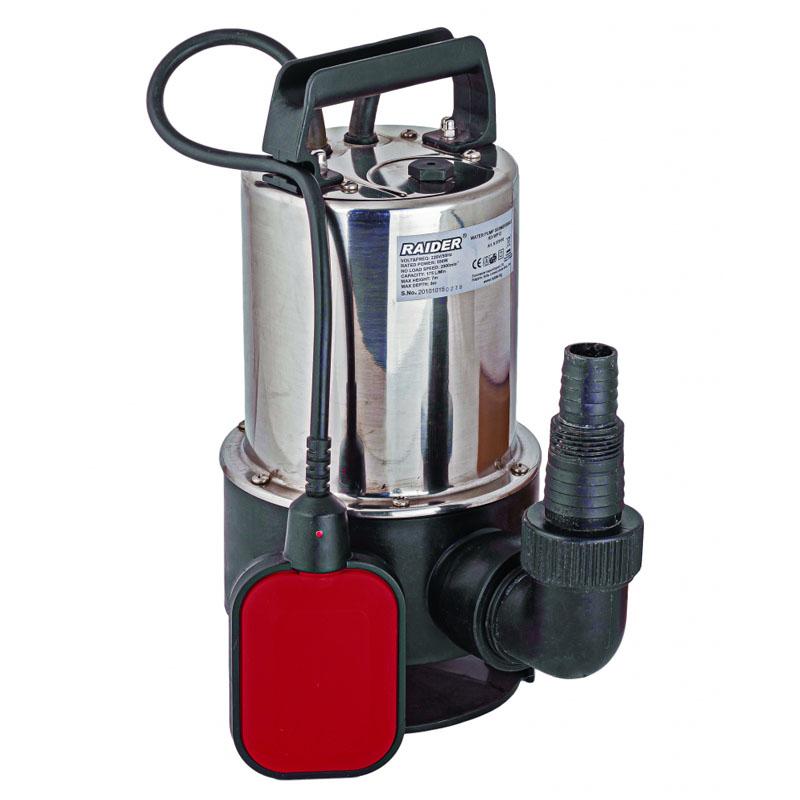 Pompa de apa submersibila Raider RD-WP12, 550 W, 1050 l/h, inaltime 7 m, adancime 7 m 2021 shopu.ro