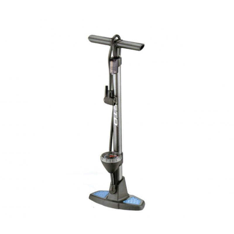 Pompa de podea pentru biciclete Beto, cilindru otel, accesorii incluse 2021 shopu.ro