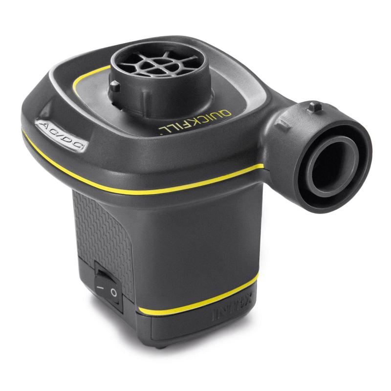 Pompa electrica Intex Quick Fill, 3 duze, alimentare priza/auto 2021 shopu.ro