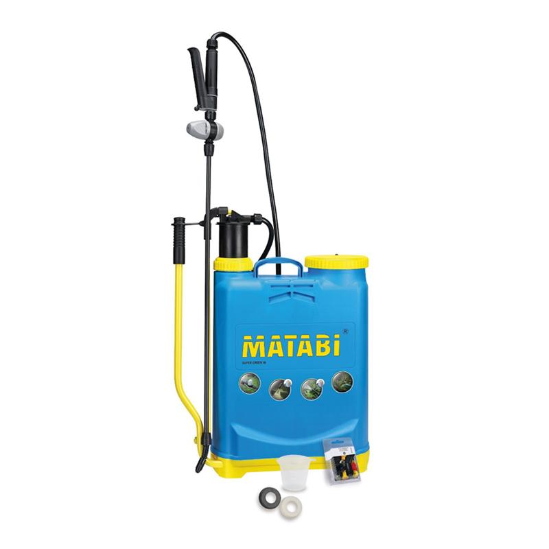 Pompa manuala de stropit Matabi Super Green, 12 l shopu.ro