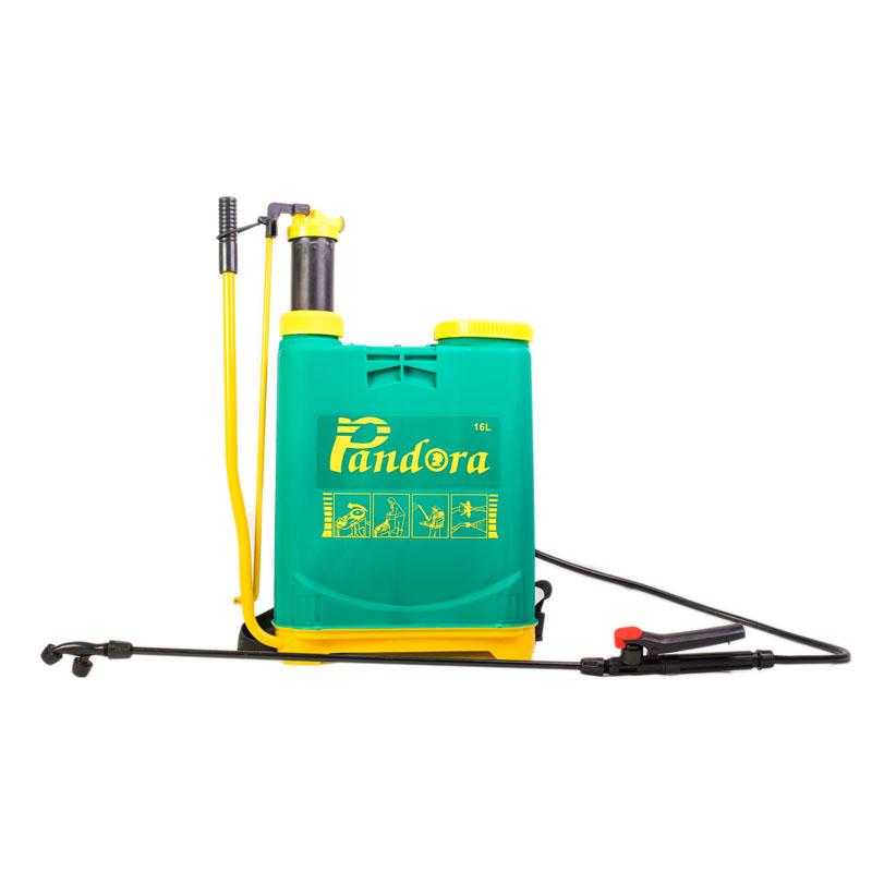 Pompa manuala de stropit Pandora, 16 l, duza metalica reglabila, 2 garnituri shopu.ro