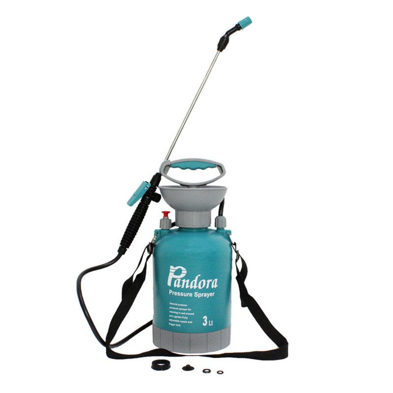 Pompa manuala de stropit Pandora, 3 l, tija pulverizare 37 cm, stropire ceata sau jet 2021 shopu.ro