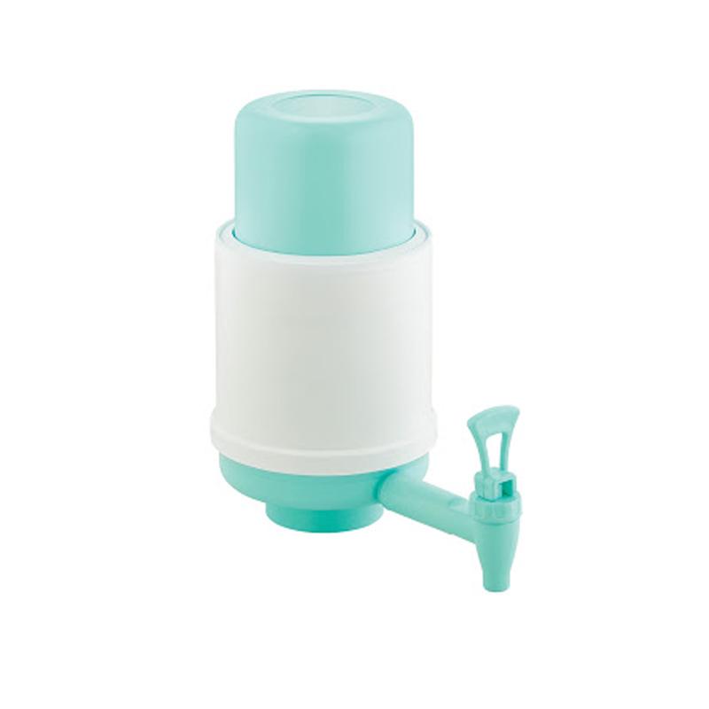 Pompa manuala pentru apa, plastic, Turcoaz 2021 shopu.ro