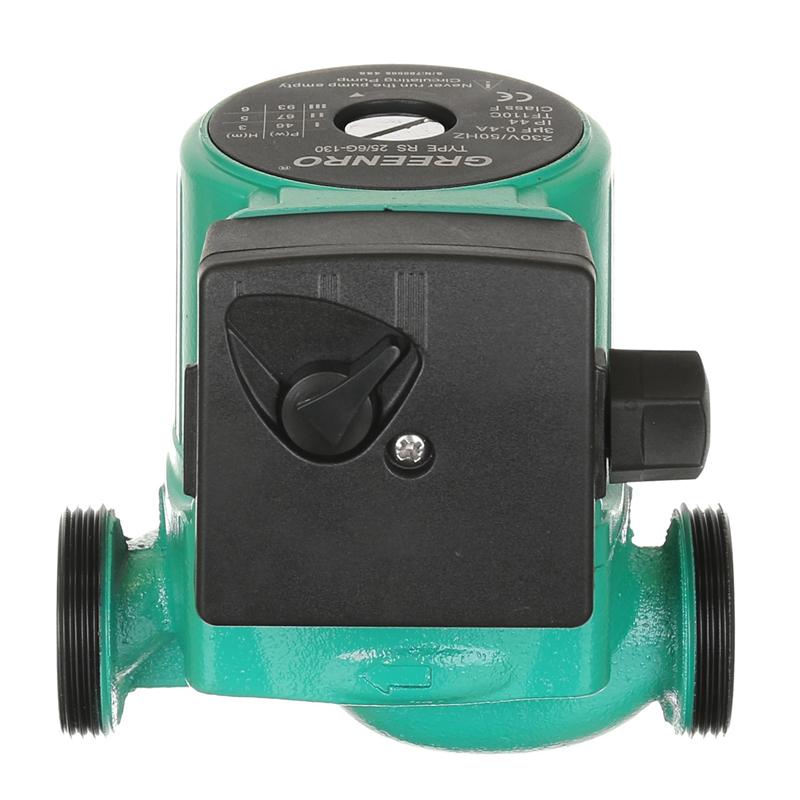 Pompa recirculare, 25-60, inaltime 6 m, 130 mm, debit maxim 3.3 mc/h shopu.ro