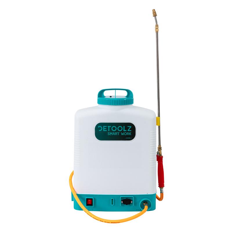 Pompa stropit acumulator Detoolz, 16 l, furtun presiune 2021 shopu.ro
