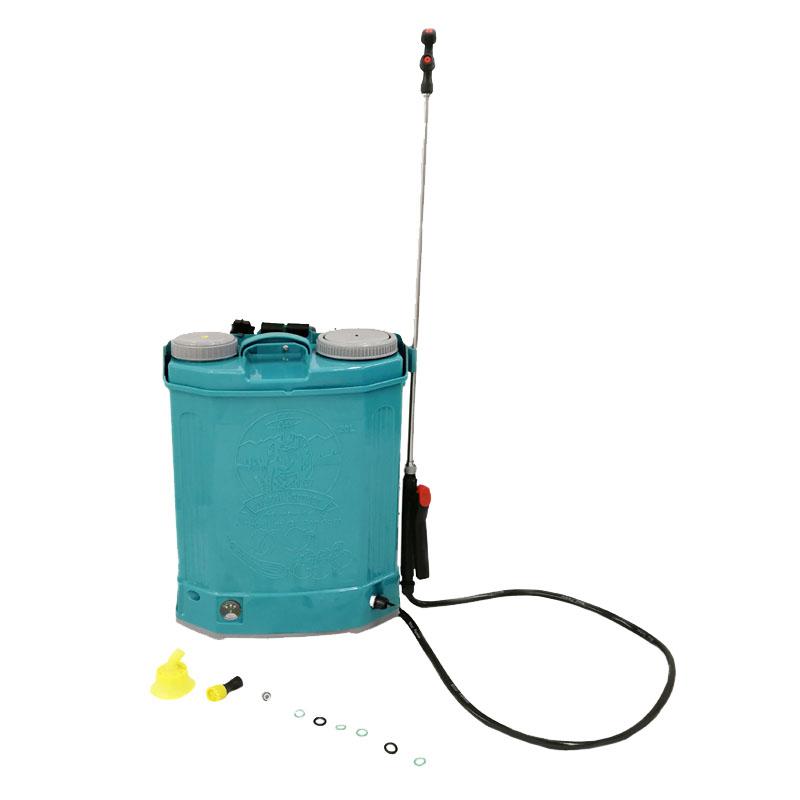 Pompa stropit cu acumulator Micul Fermier, 20 l, 5 bar, curele reglabile, maner transport shopu.ro